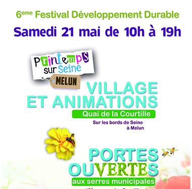 Exposition Festival développement durable Melun 2016 – 6e éditions